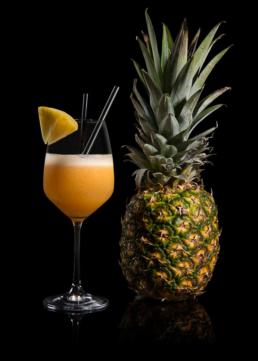 Foto succo ananas