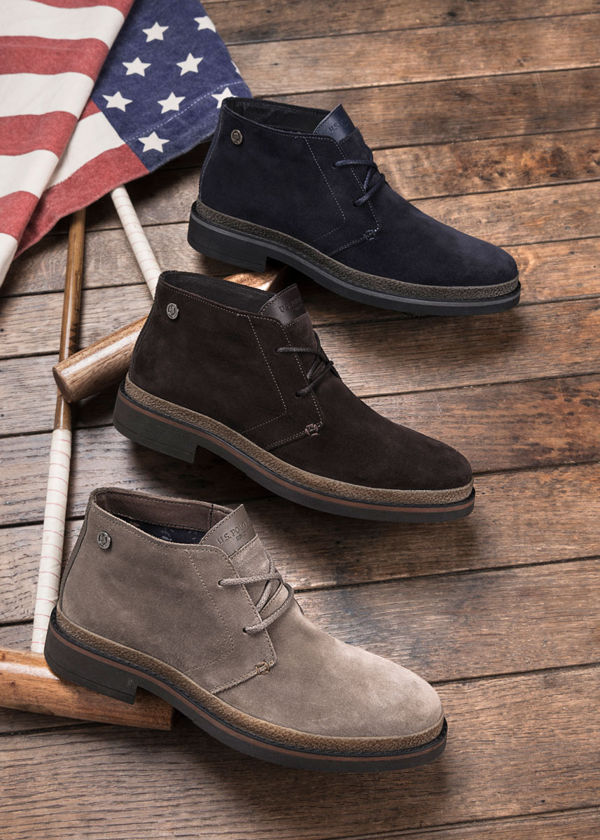 Campagna pubblicitaria per Sneakers U.S. Polo Assn.