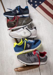Foto pubblicitaria per Sneakers U.S. Polo Assn.