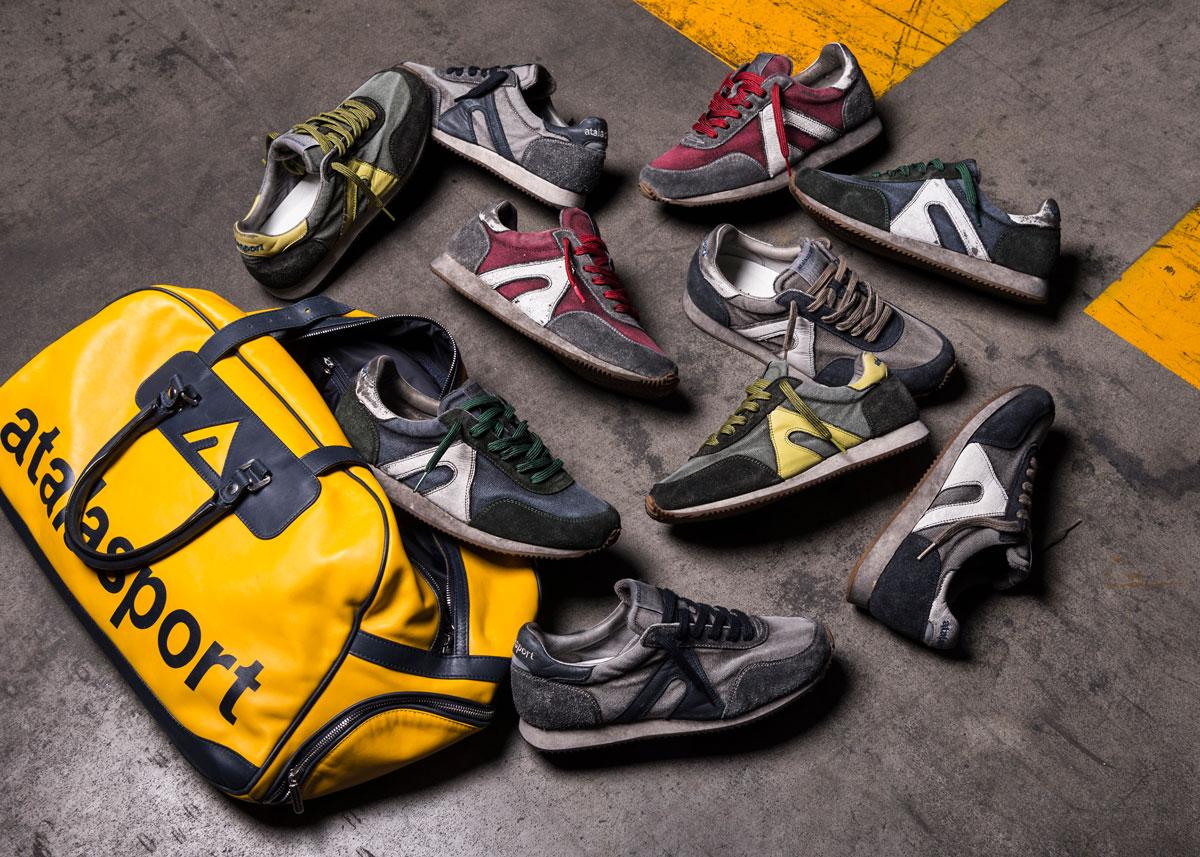 Fotografia pubblicitaria Sneakers Atalasport