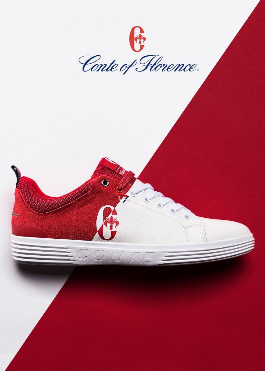 Pubblicità Sneakers Conte Of Florence