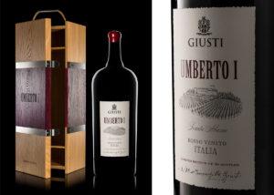 Giusti Wine edizione limitata Umberto I