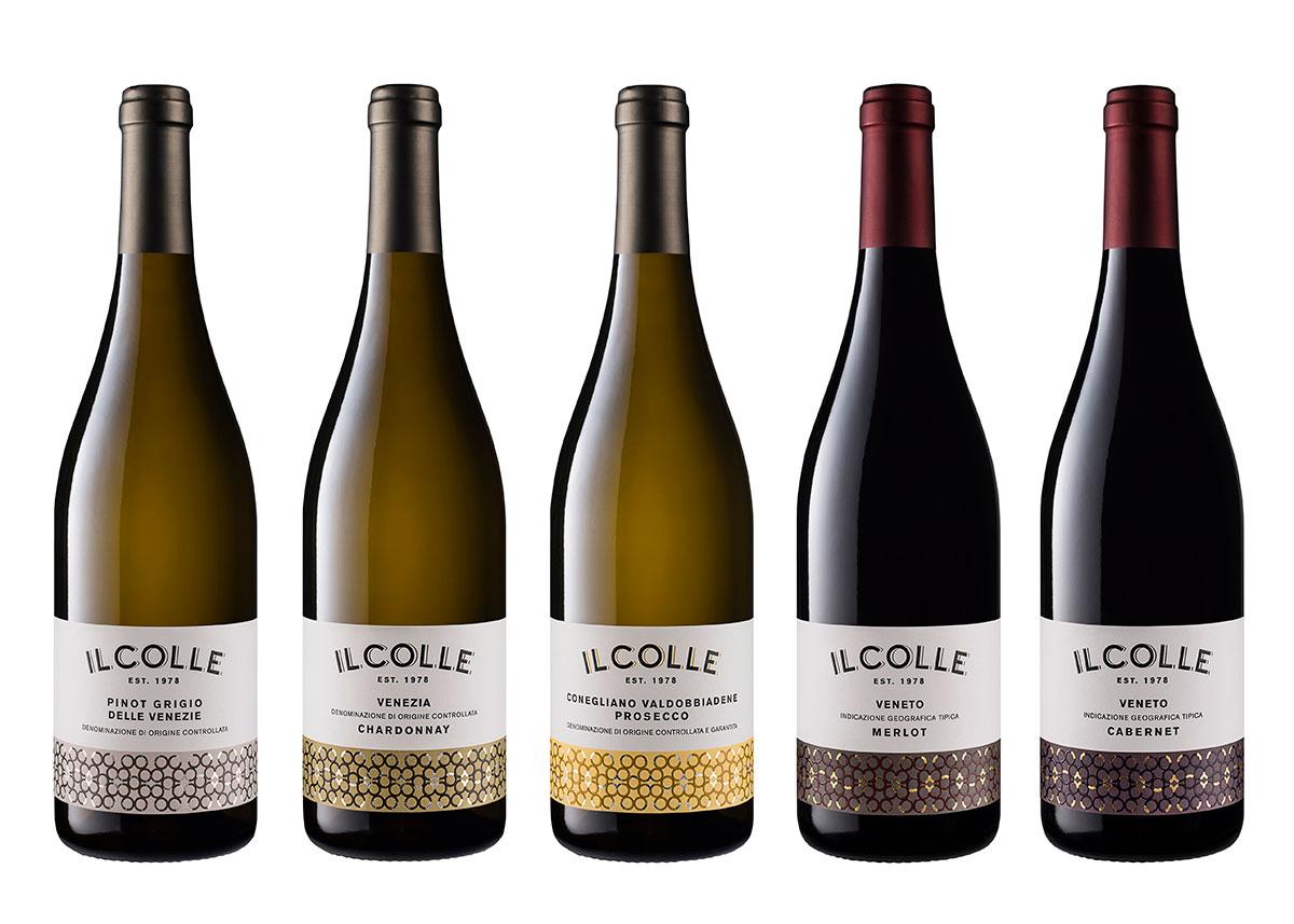 Still Life Bottiglie cantina Il Colle