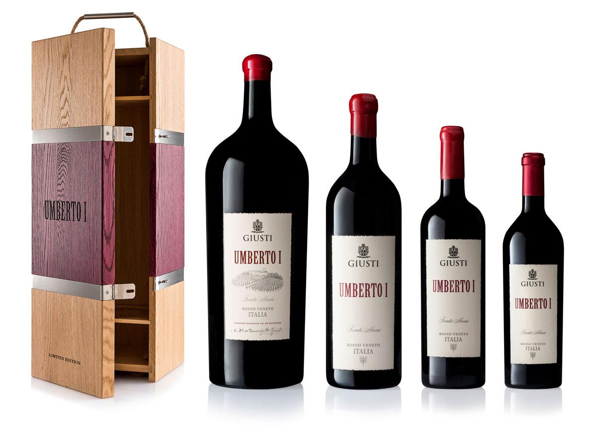Still Life Bottiglie Giusti Wine