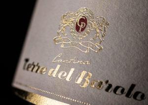 Dettaglio Etichetta Bottiglia Vino
