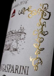 Fotografia Etichetta Bottiglia Vino
