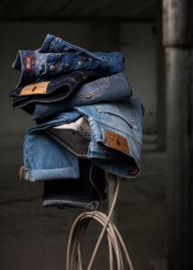 Foto pubblicitaria Jeans
